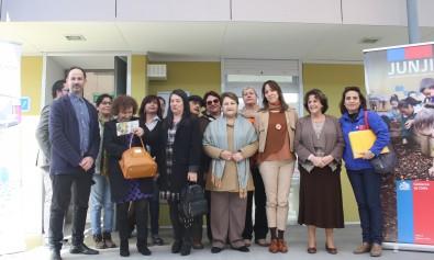 Alcaldesa y Subsecretaria de Educación Parvularia visitan nuevo jardín infantil de la comuna