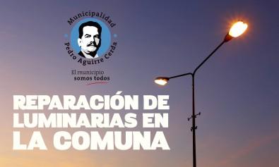 reparacion LUMINARIAS 2017-01
