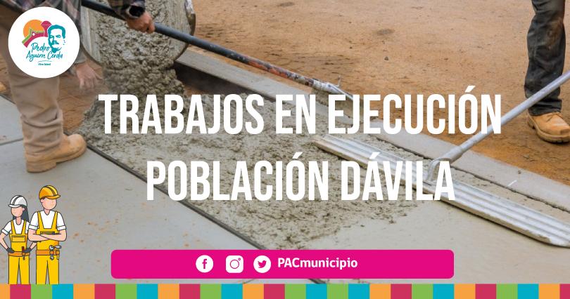 Trabajos Dávila Pacmunicipio